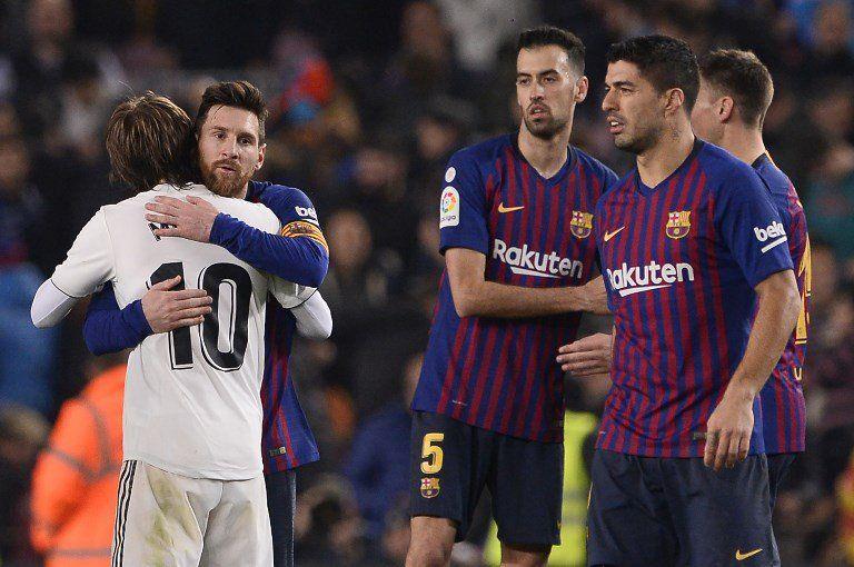 Modric y Messi resumen todo lo bueno que tiene el fútbol en Barcelona y Real Madrid