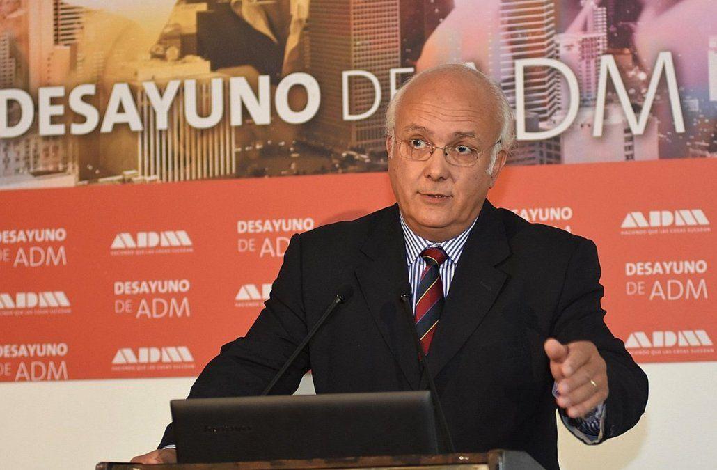Foto: publicada por ADM. Gustavo Licandro durante el desayuno de ADM.