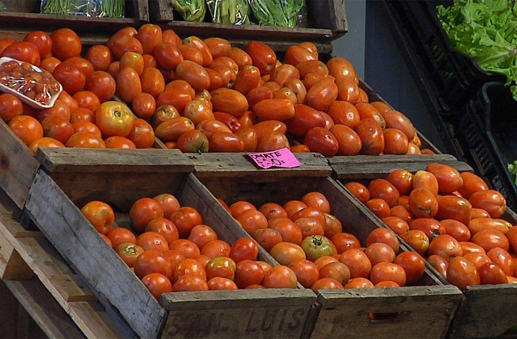 Algunas frutas y verduras subieron hasta un 200% como consecuencia de la ola de calor