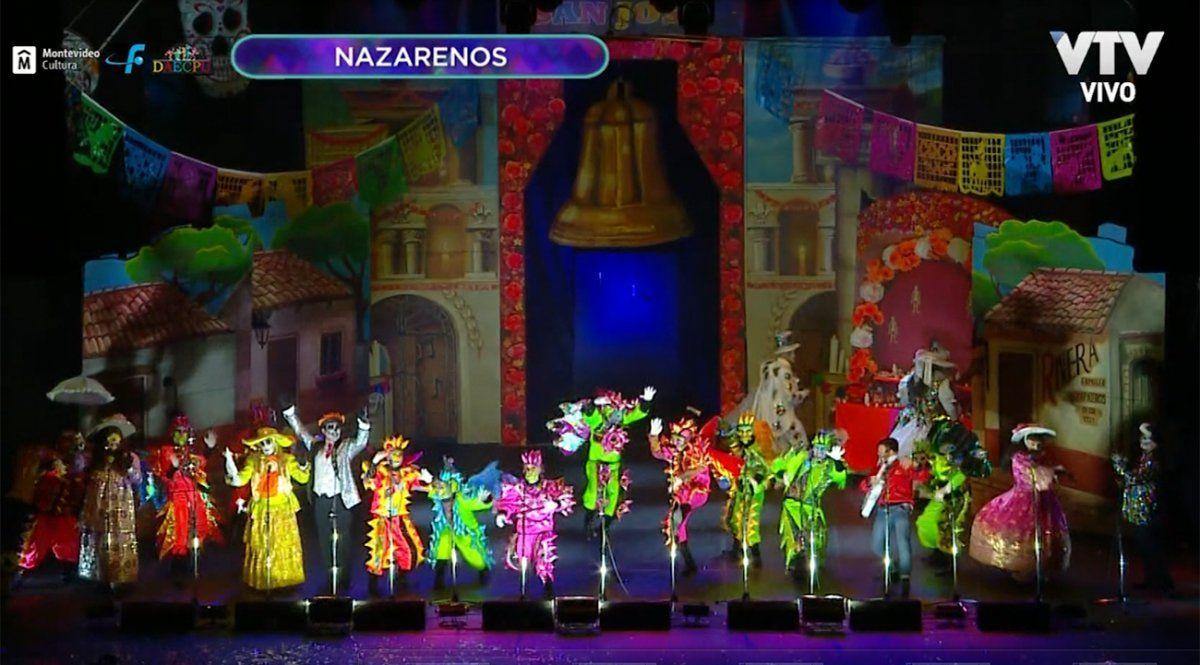 Parodistas Nazarenos presentó un colorido espectáculo entre la vida y la muerte