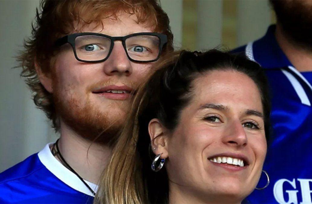 Se casó Ed Sheeran… ¡y nadie se dio cuenta!
