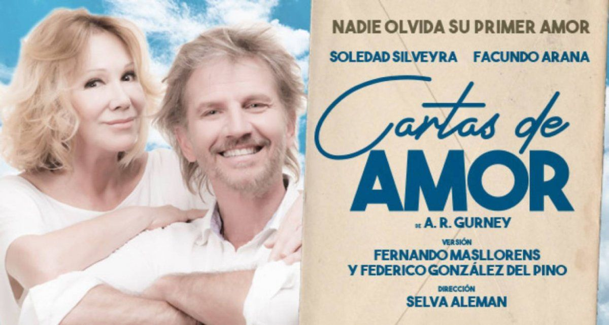 Cartas de amor con Facundo Arana y Soledad Silveyra
