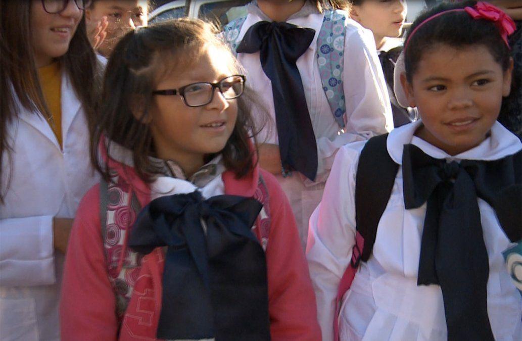Más de 400.000 alumnos comenzaron las clases en la educación pública