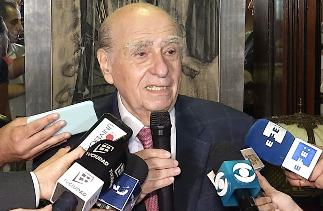 Sanguinetti anunció su precandidatura a la Presidencia: Entré al ver que mi partido se deshilachaba