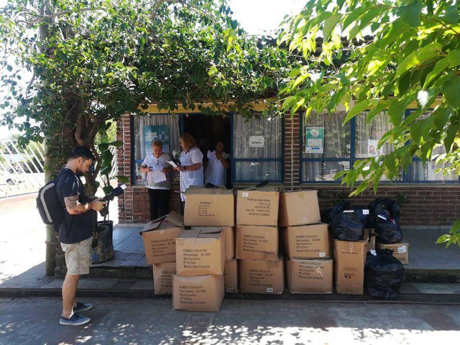 Alur donó canastas de útiles escolares a nueve escuelas de Bella Unión