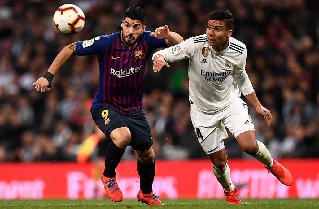 Barcelona le volvió a ganar a Real Madrid en el Bernabéu, ahora por la Liga