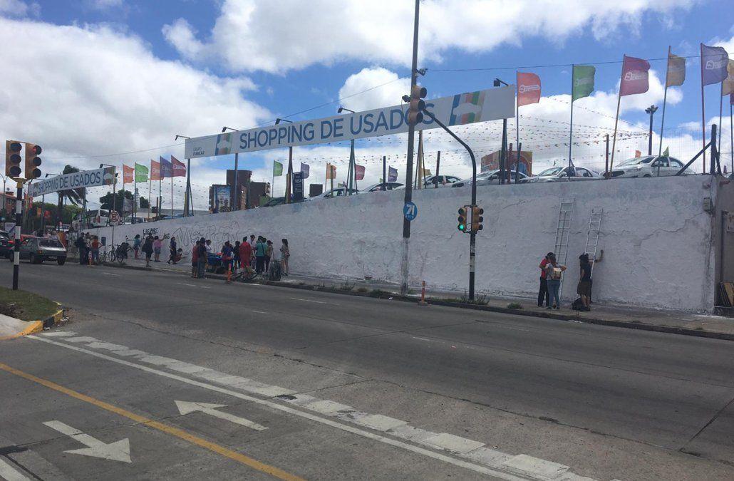 Hicieron la reconstrucción del homicidio del grafitero Plef