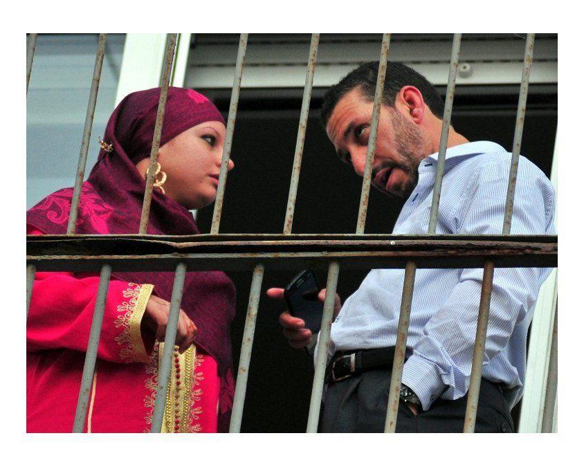 Abis Ourgy primero se casó con una uruguaya convertida al islam. Terminó denunciado por violencia de género.