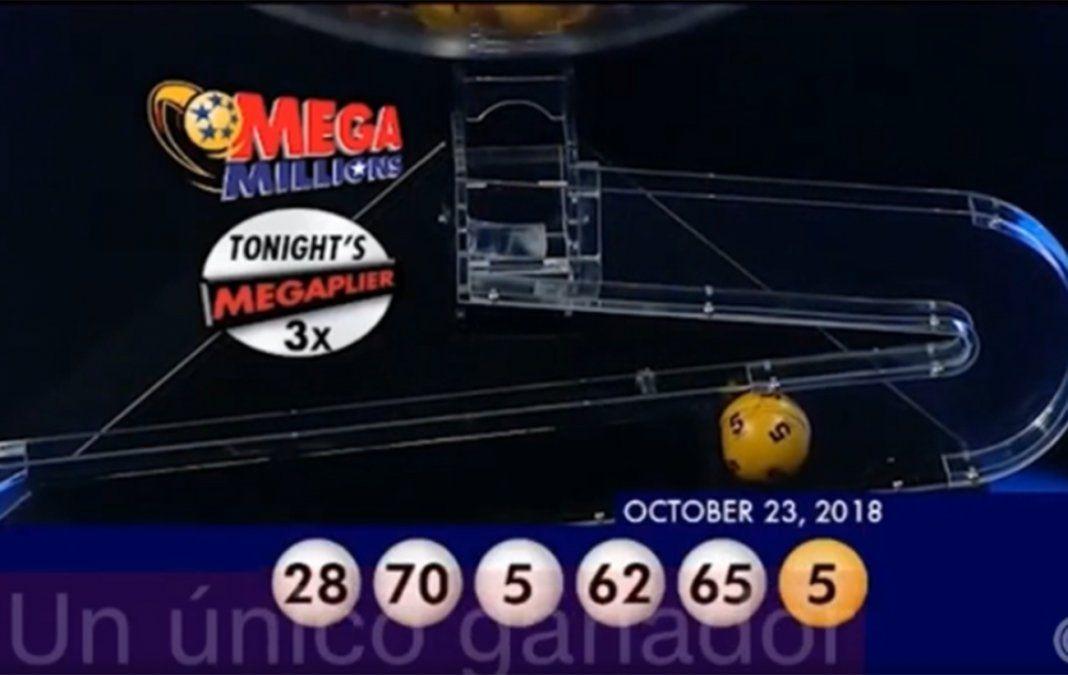Aparece el ganador de Mega Millions después de 5 meses