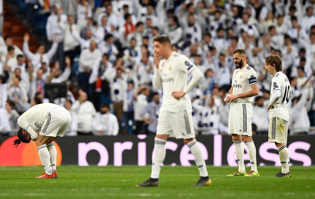 Foto: (AFP) Valverde se lamenta tras la derrota. Bale