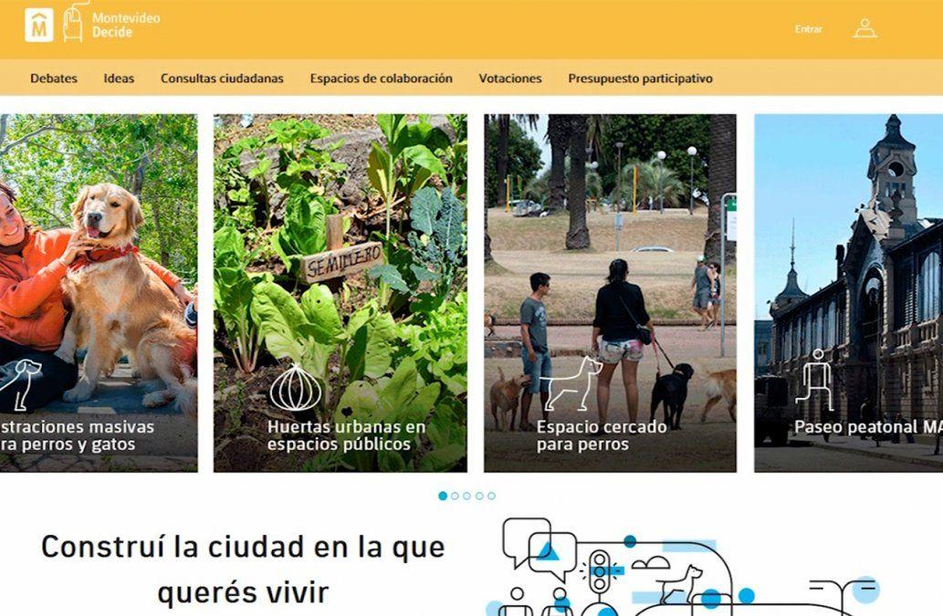 Intendencia de Montevideo financiará cuatro proyectos propuestos por la ciudadanía