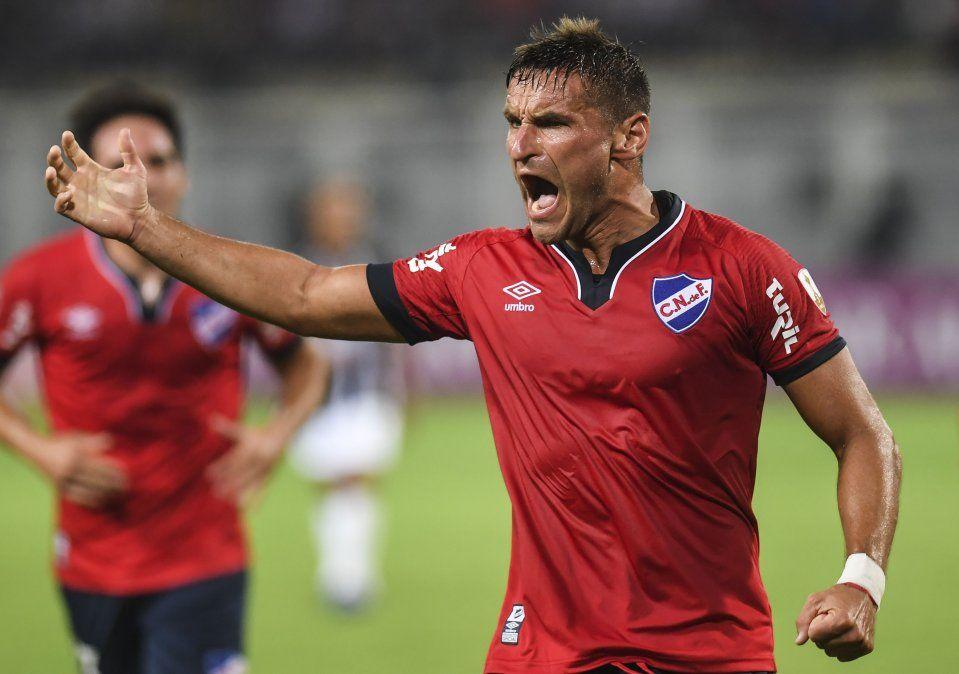 Nacional se quedó con los tres puntos en su debut por la Copa Libertadores
