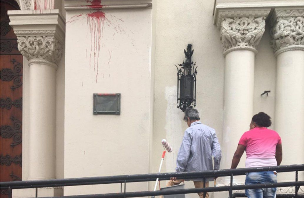 Fiscal investiga de oficio ataque a la iglesia del Cordón y pide identificar a las agresoras