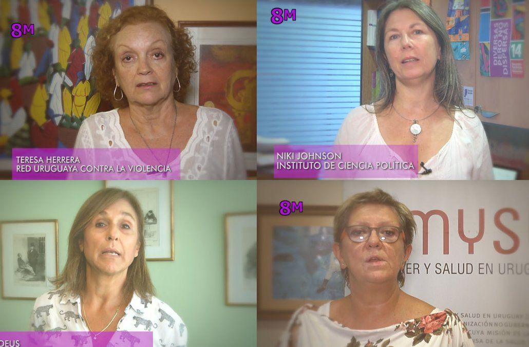 Uruguayas referentes expresan lo que falta en materia de derechos
