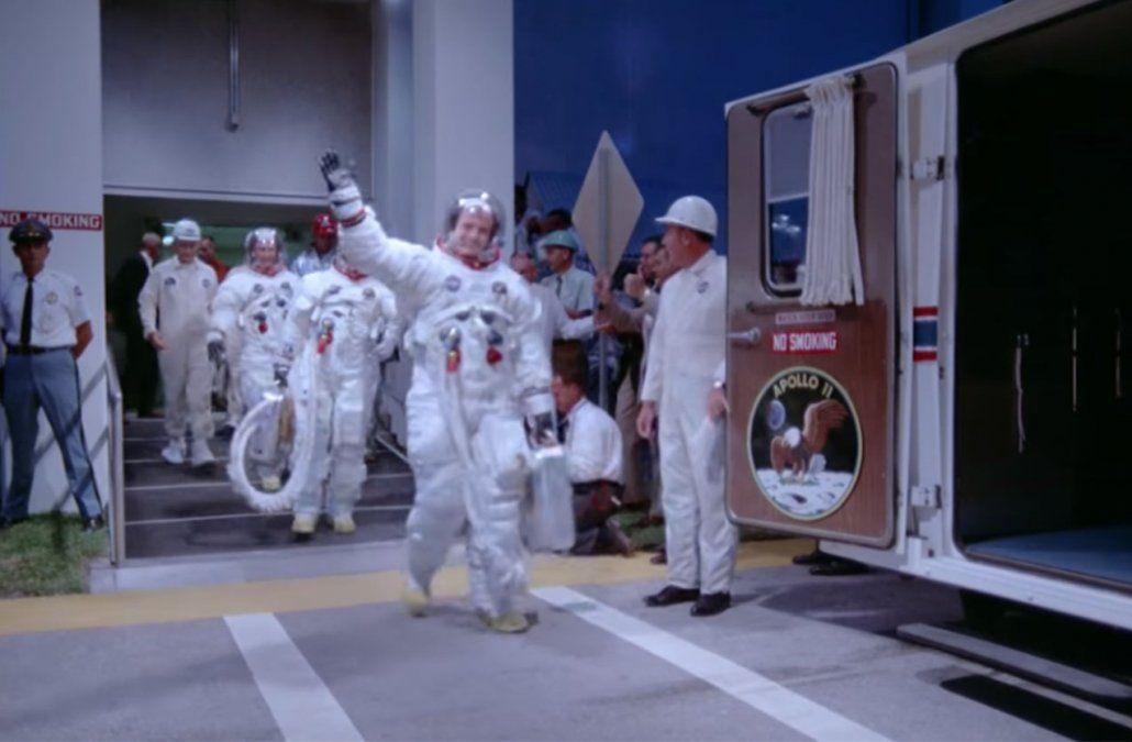 Apolo 11 vuelve a la vida en un nuevo documental con imágenes inéditas