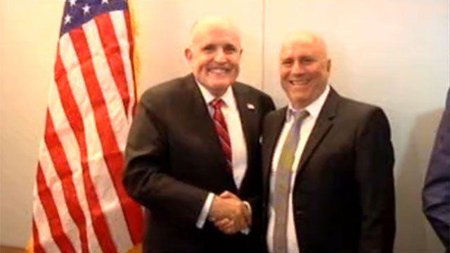 Giuliani desembarco con sus ideas en el Cono Sur. En Argentina con Sergio Massa y en Uruguay con Edgardo Novick