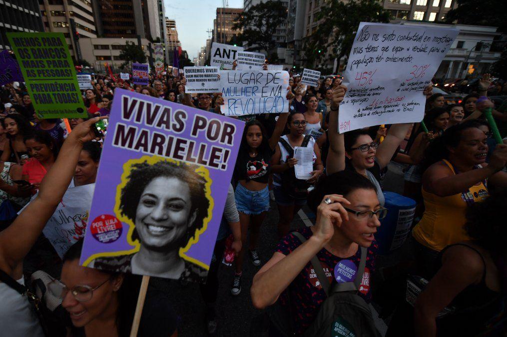 Detienen a dos policías sospechosos de asesinar a Marielle Franco en Brasil
