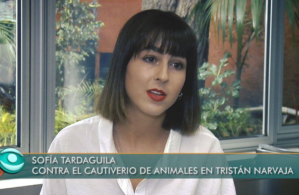 Una joven uruguaya que lucha contra la venta ilegal de animales en Tristán Narvaja