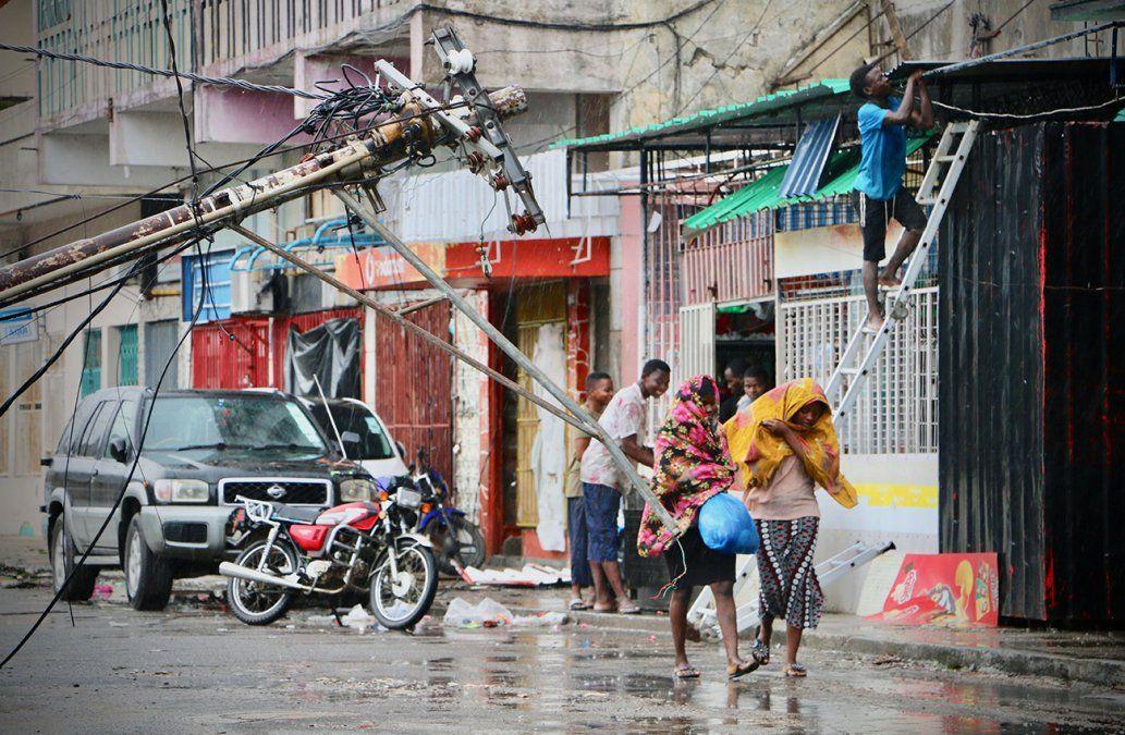 Ciclón daña el 90% de Beira, segunda ciudad de Mozambique