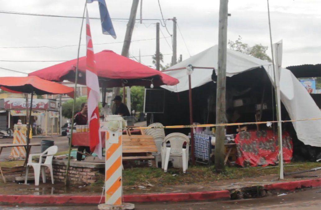 Un muerto y 17 detenidos por incidente frente a la Fiesta de la Patria Gaucha