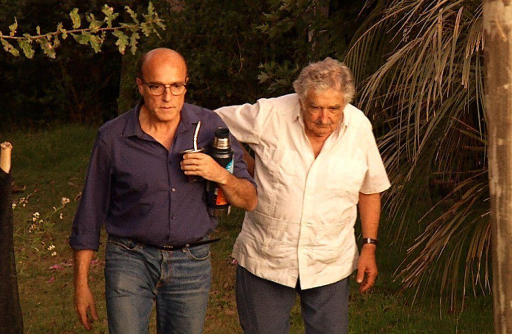 Martínez comenzó su campaña electoral con Mujica, que en la interna apoya a Cosse