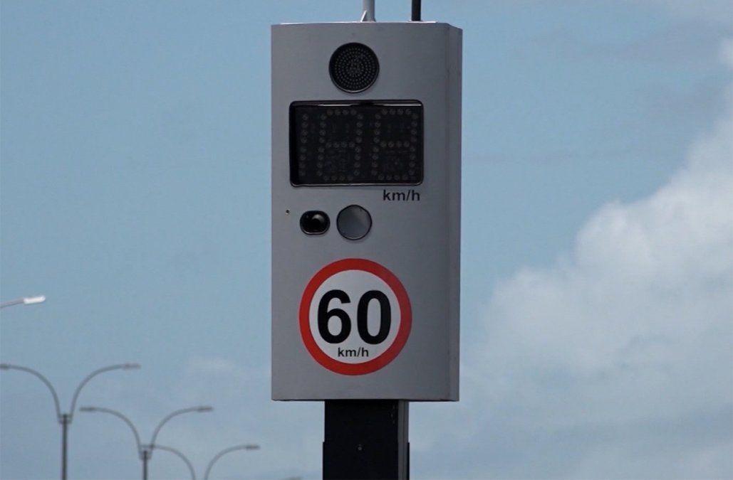 Los siete puntos con más multas por exceso de velocidad en Montevideo