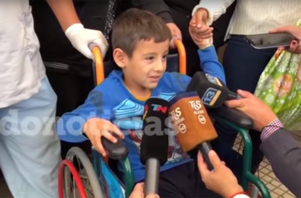 Niño de 5 años sobrevivió 24 horas perdido en un desierto en Argentina