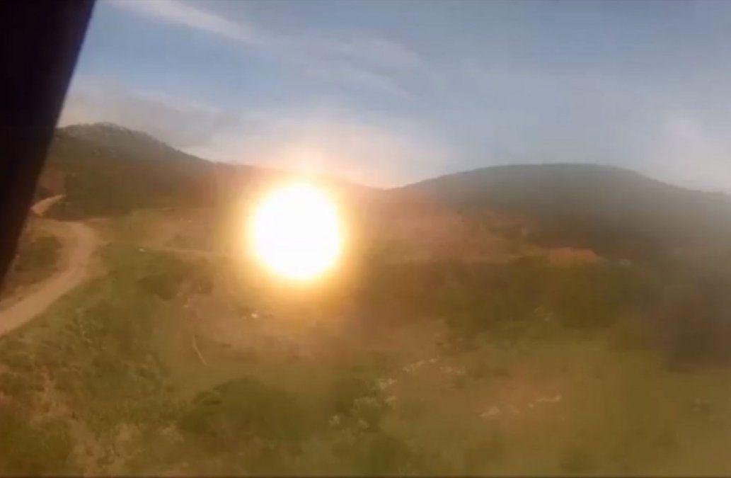 Así fue la explosión de material bélico que hizo pensar en un terremoto