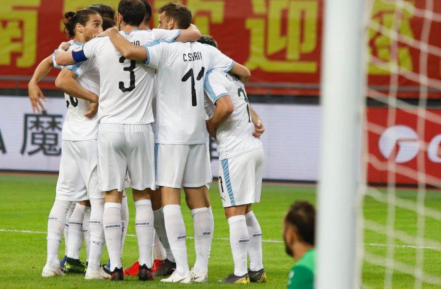 Uruguay 3- Uzbekistán 0: celestes enfrentarán a Tailandia en la final del lunes