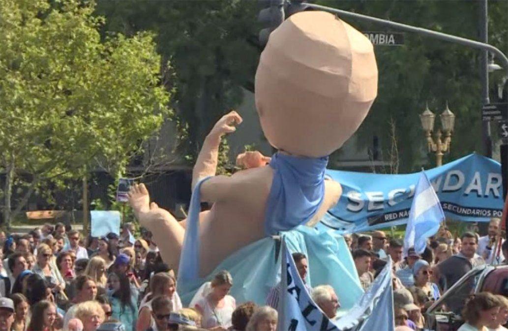 Agrupaciones provida argentinas marcharon oponiéndose a la despenalización del aborto