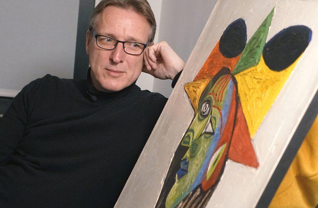 Un detective holandés recupera en Amsterdam un Picasso robado en 1999