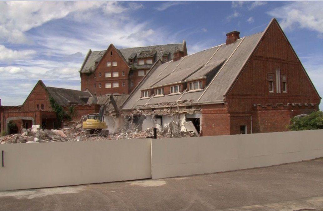 Justicia ve el jueves si permite o no la demolición del ex hotel San Rafael