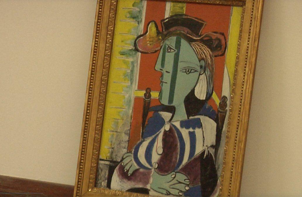 Obras de Picasso llegan a Uruguay y se exhiben en el Museo Nacional de Artes Visuales