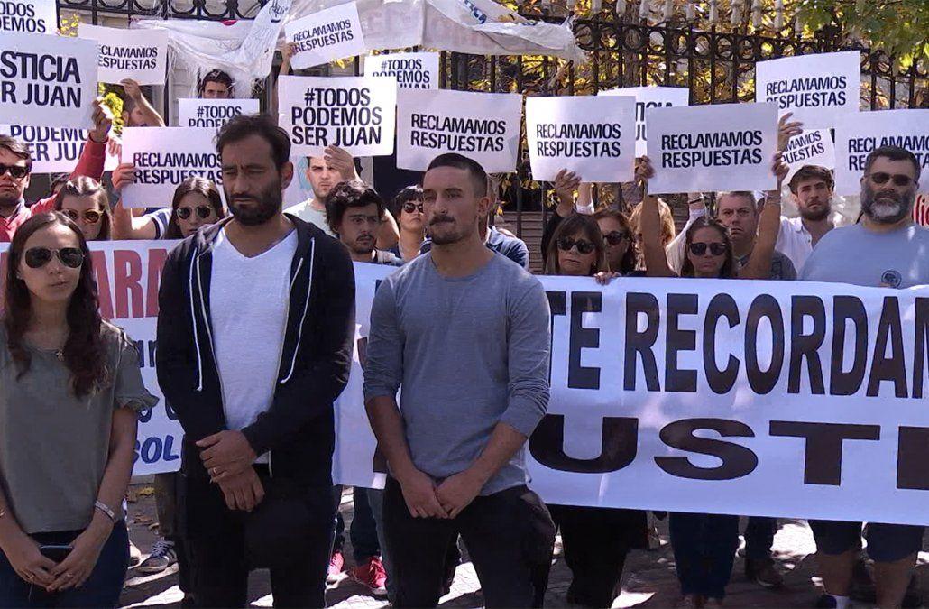 Familiares y amigos de Juan Fígoli marcharon en reclamo de Justicia