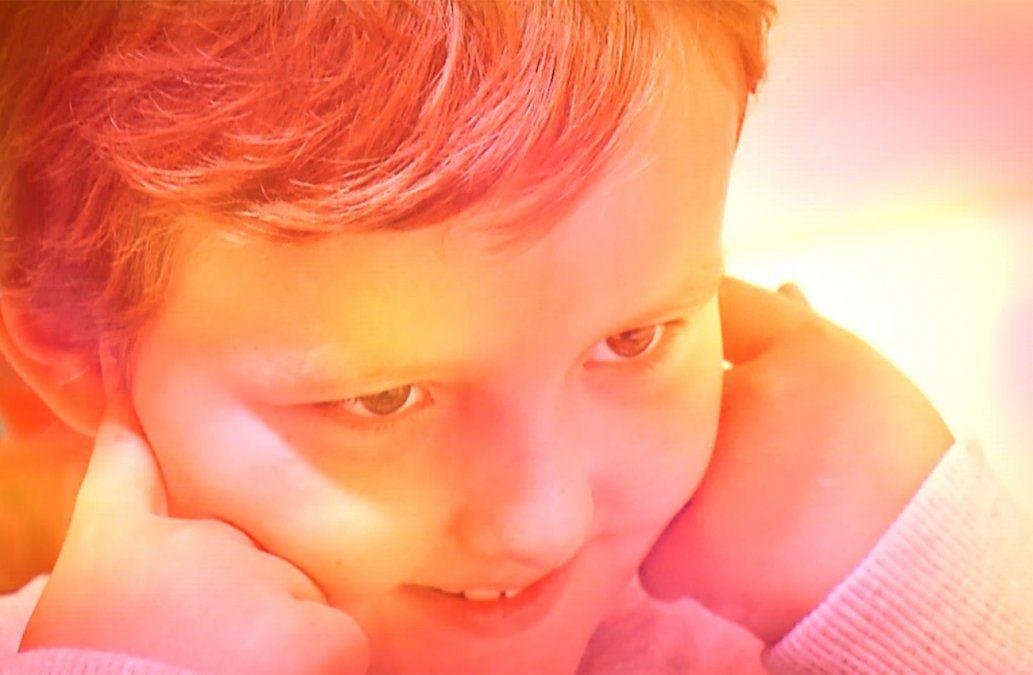 El mundo de Joaquín: caricias, miradas y gestos para comunicarse