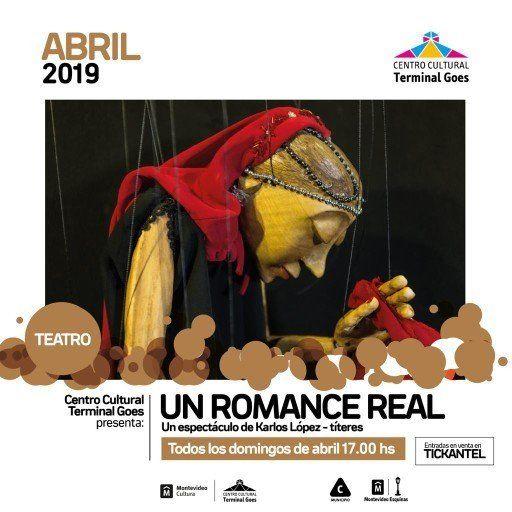 En abril se presenta Un romance Real, un unipersonal de títeres