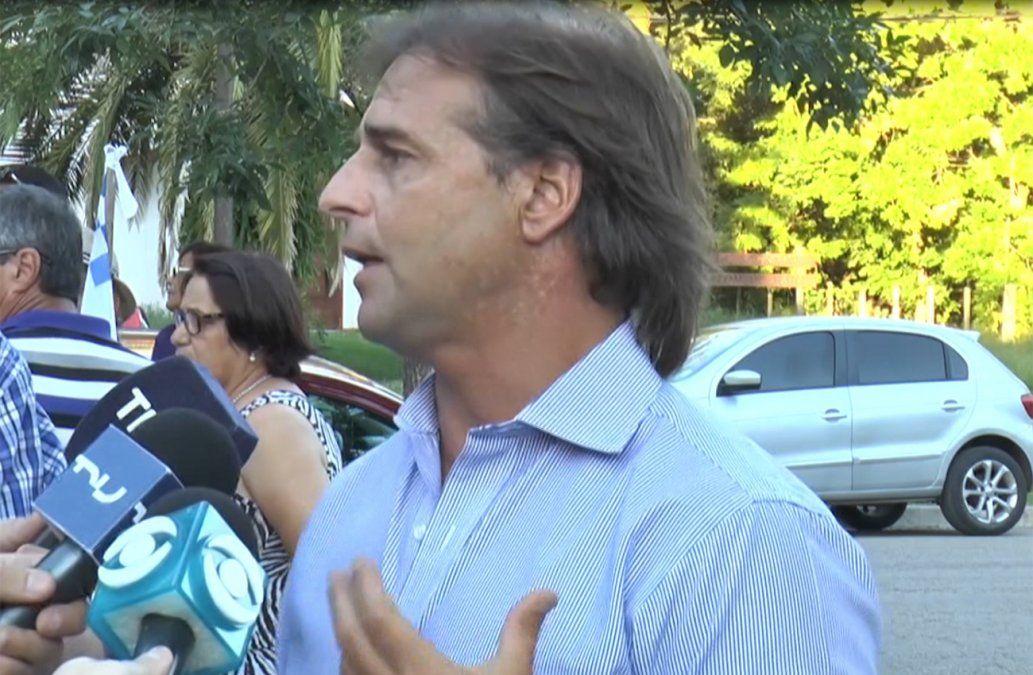 Lacalle Pou señala responsabilidad política de Vázquez al nombrar nuevo jefe del Ejército