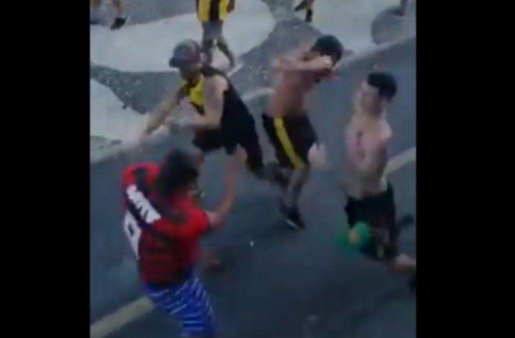 Graves incidentes entre hinchas de Peñarol y Flamengo en Rio de Janeiro