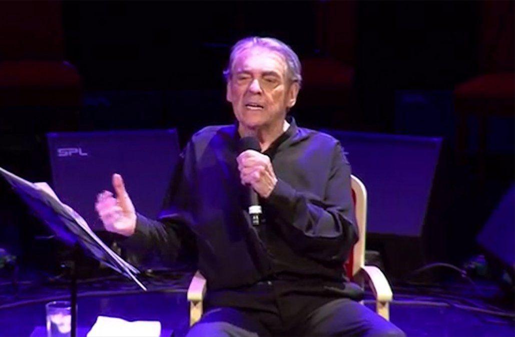 A los 79 años murió Alberto Cortez, intérprete de  Cuando un amigo se va, entre otros éxitos