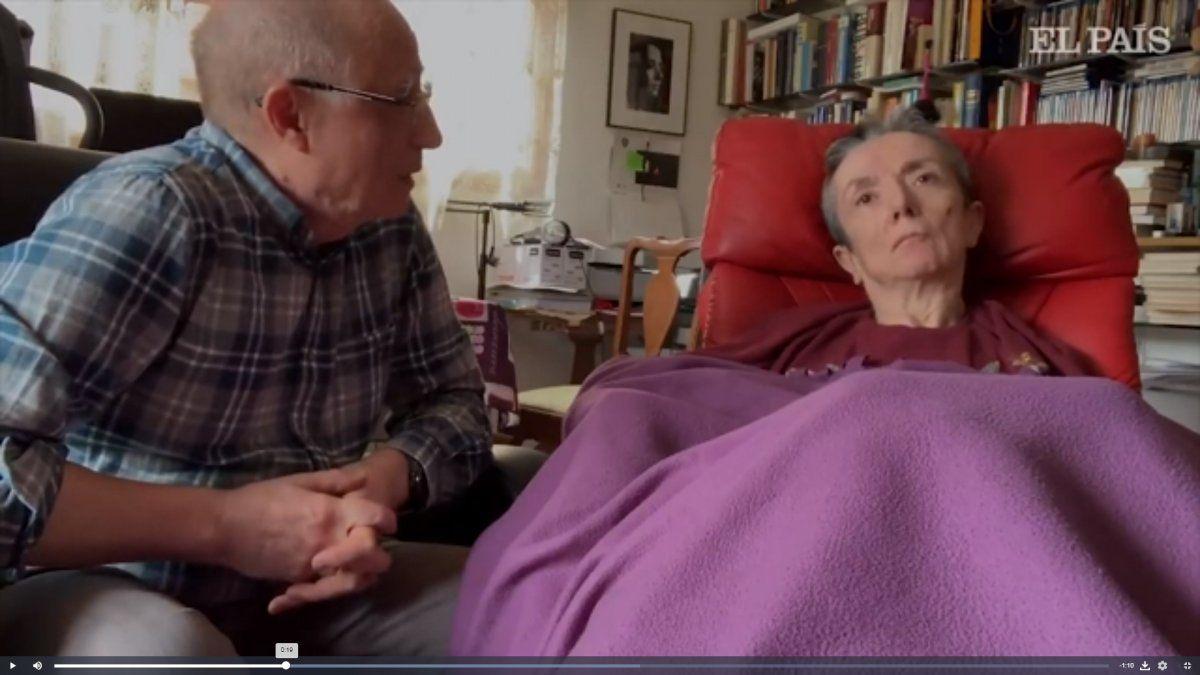 Español detenido por haber ayudado a morir a su mujer que sufría de esclerosis múltiple
