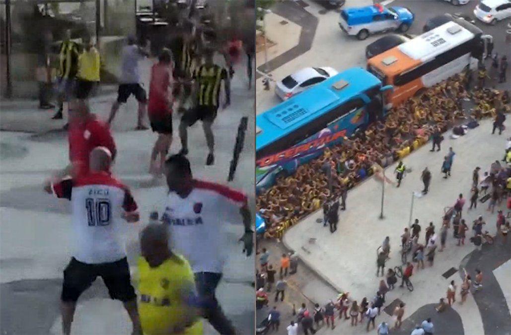 Tres hinchas de Peñarol a prisión tras pelea con aficionados de Flamengo