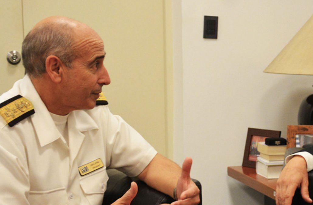 Foto del comandante Abelleira publicada por la Fiscalía.
