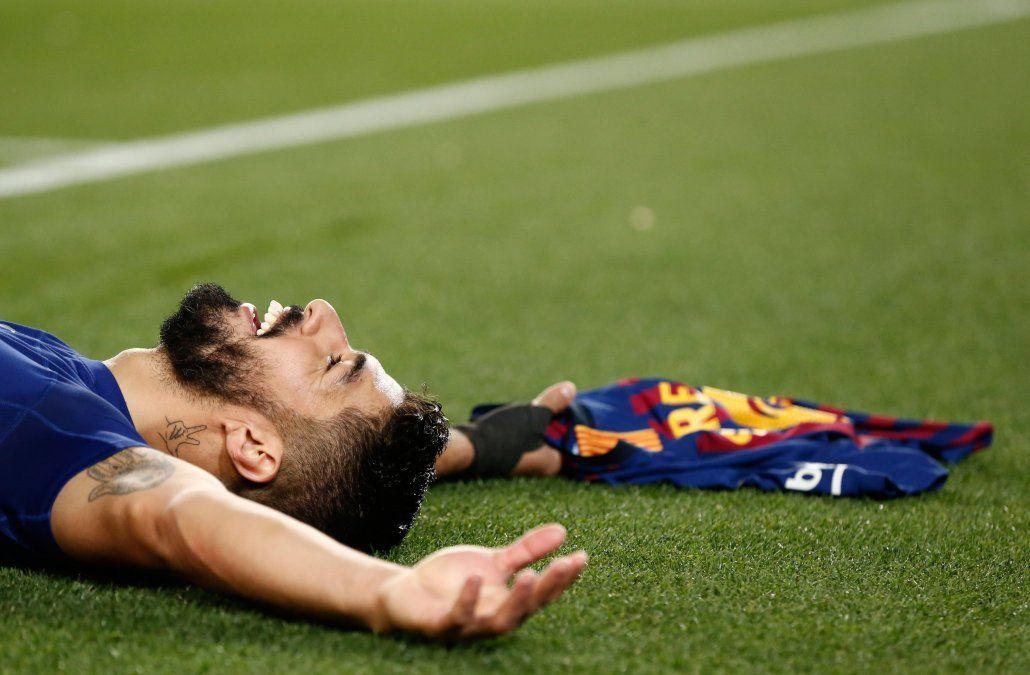 Suárez y Messi le dieron la victoria 2-0 ante el Atleti y sentenciaron la Liga