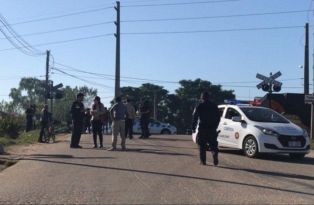 Padre e hijo murieron atropellados por el tren en Las Piedras