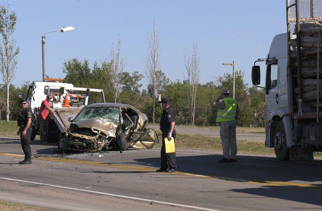 Reconocido médico de Florida falleció tras chocar con un camión en ruta 5