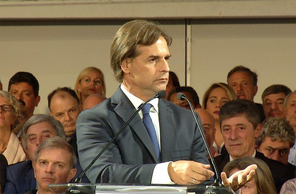 Lacalle Pou propone cinco grandes shocks para poner al país en un rumbo mejor