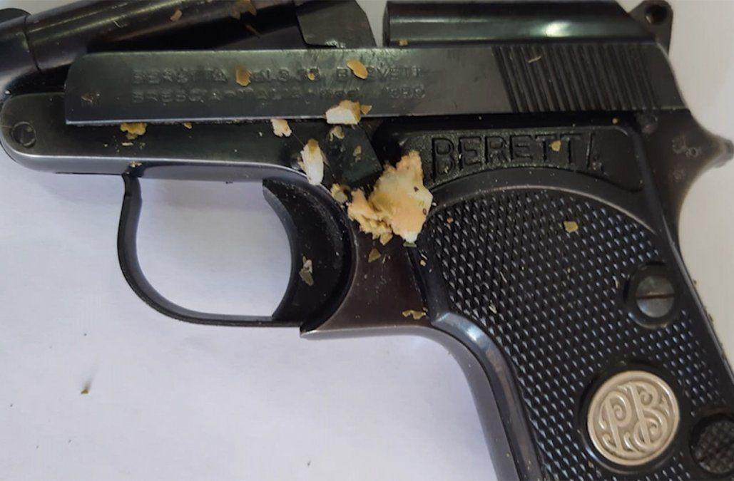 Incautaron en la cárcel de mujeres una pistola con municiones prontas para disparar