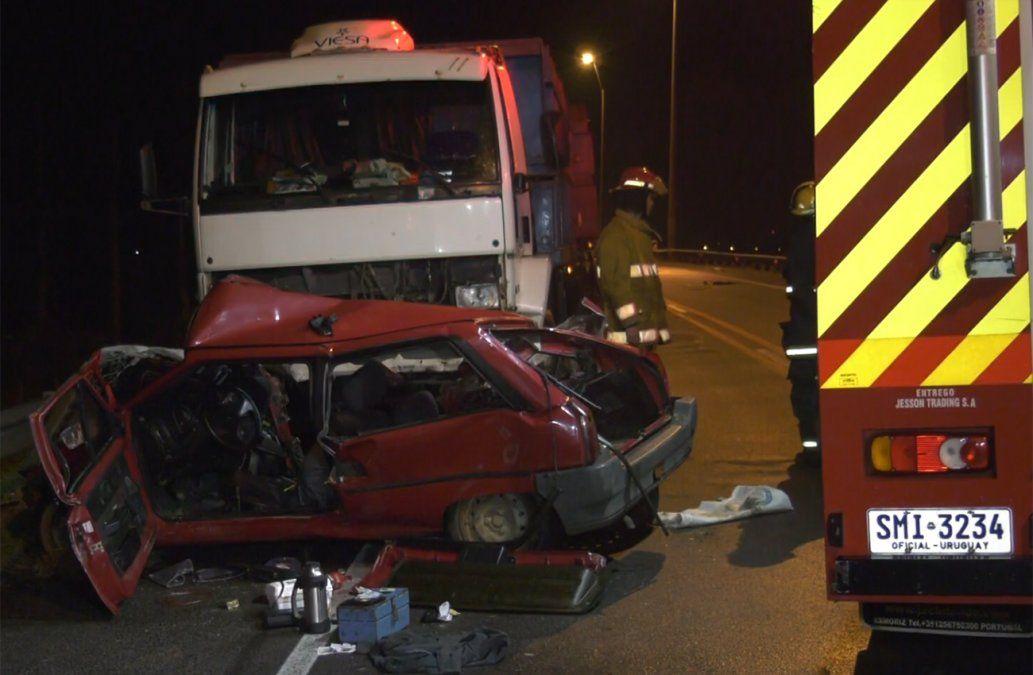 Accidente en Ruta 5 termina con dos personas muertas