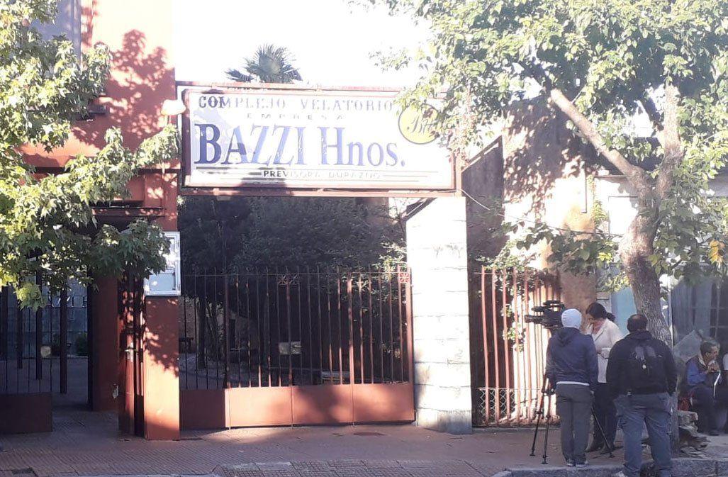Lugar del velatorio del exministro Menéndez. hasta media mañana estaban presentes los ministros Nin Novoa y Víctor Rossi