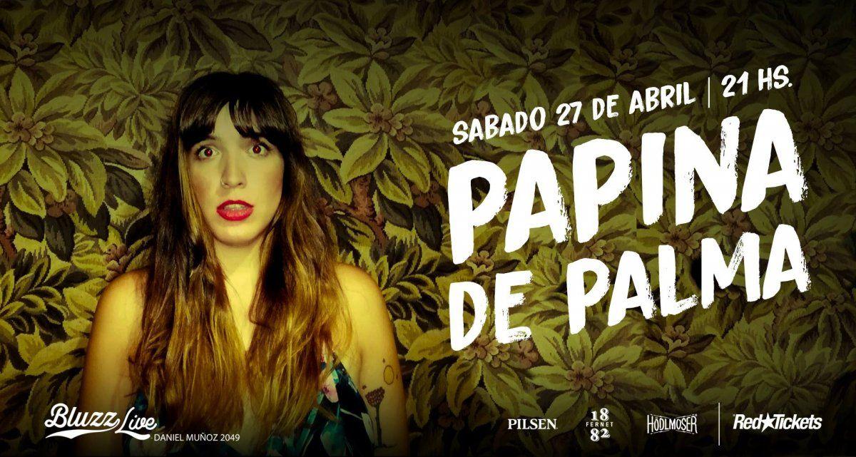 Papina De Palma realiza un show de despedida, antes de su viaje